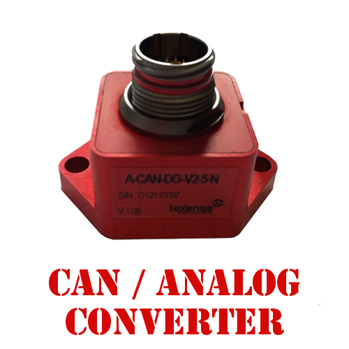 CAN - Analog Convertors