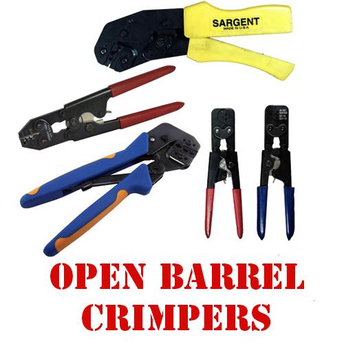 Open Barrel Crimpers