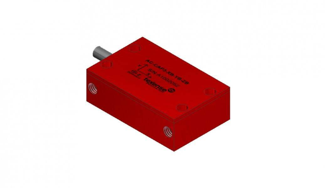 TEXYS Capacitive Accelerometer 3 Axis XYZ – PRO