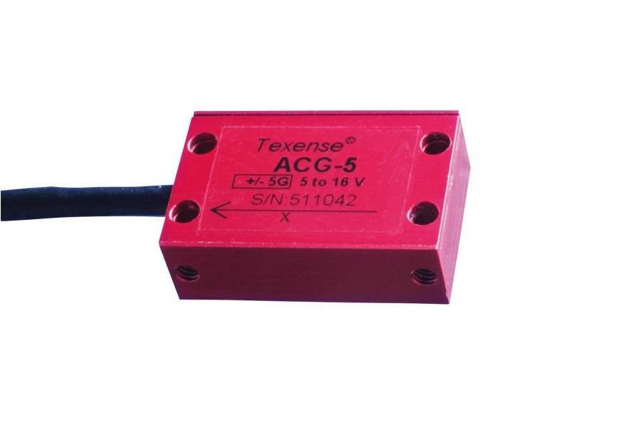 TEXYS Gas Accelerometer 1 Axis X or Y – PRO