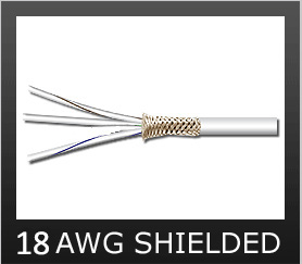 18AWG Shielded Wire