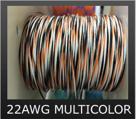 22AWG MULTI-COLOR