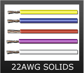 22AWG SOLID COLORS