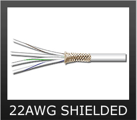 22AWG Shielded Wire