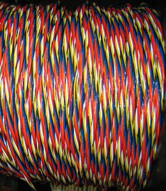 24AWG Wire, Multi-Color
