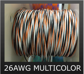 26AWG MULTI-COLOR