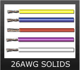 26AWG SOLID COLORS