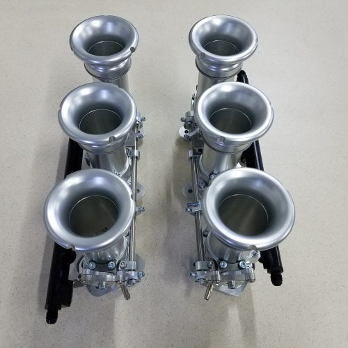 Direct-to-Head Porsche 993 45mm Throttle Bodies