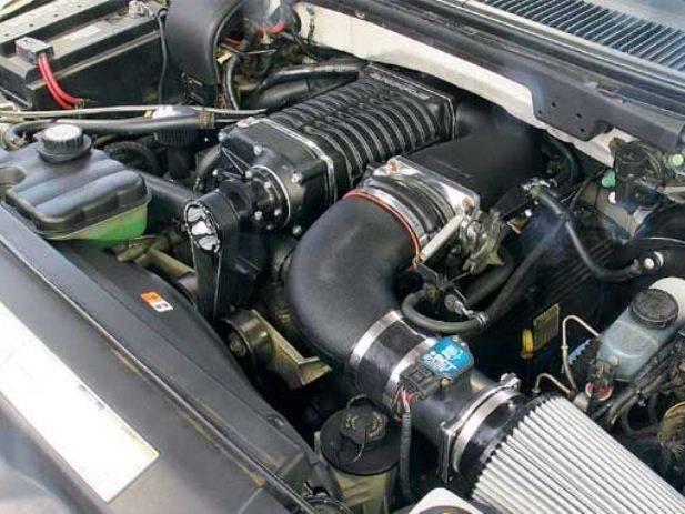 WHIPPLE FORD LIGHTNING / HARLEY SVT F150 5 4L 2001-2004 SUPERCHARGER RACER  KIT W140AX 2 3L